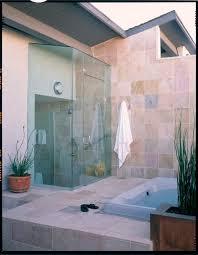 outdoor bathroom ideas indoor outdoor bathing contemporary bathroom los angeles