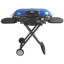 Backyard Grill 5 Burner Gas Grill by Coleman Roadtrip Lxe 2 Burner Portable Propane Grill In Blue