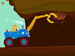 dinosaur digger truck simulator games kids app store
