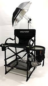 Hair Chair Pro Makeup Artist Chair Case Combo W Side Table Free 30 00