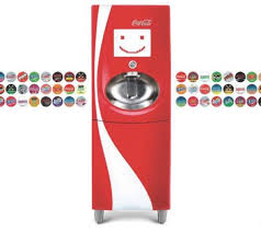 Southern Comfort And Coke Coke Pepsi Introduce Futuristic New Soda Fountains And Vending