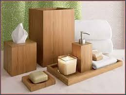 Bamboo Bathroom Accessories by Bamboo Bathroom Accessories Brushed Nickel U2014 Best Home Decor Ideas