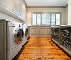 Pull Out Laundry Cabinet Laundry Room Baskets Atticmag