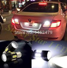 led lights for cars store pair 1156 ba15s p21w canbus no error car led rear reversing tail