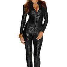 leather jumpsuit s shiny catsuit snakeskin pattern unitard faux leather