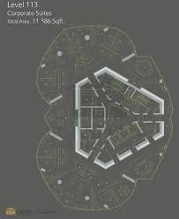burj khalifa corporate suites floor plans