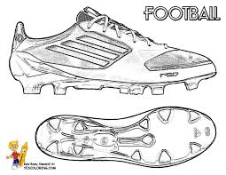 action football coloring pages print football free