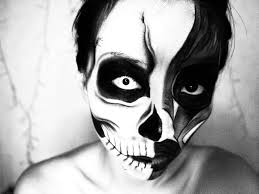 Halloween Makeup Clown Faces by Halloween Makeup Skull Skeleton Makeup Tutorial Youtube