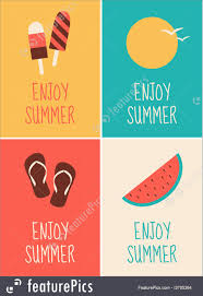 themed posters summer posters collection illustration