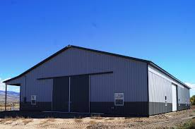 Livestock Barns Agricultural And Livestock Pole Barns Mqs Structures