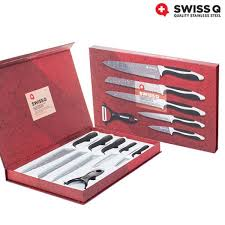 swiss kitchen knives swiss q coated knife set 6 pieces buy at wholesale price
