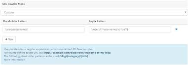 regex pattern website url configuring url rewrite rules