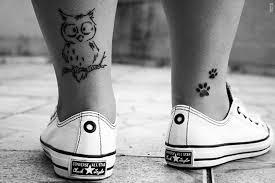 cute ankles tattoos pairodicetattoos com