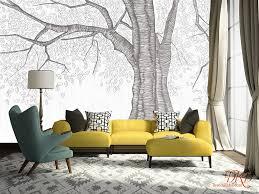 wall coverings wallpaper wall murals giant tree peel u0026