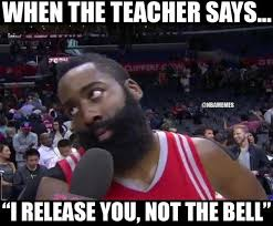Funny Memes Com - when the teacher says i release you not the bell funny meme