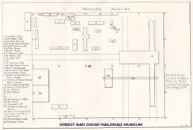 Machine Shop Floor Plan by San Diego And Arizona Railway Common Standard Drawings
