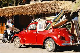 vintage surf car the five best surf destinations in mexico vogue