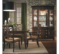 Badcock Catalog Online by Dark Wood Dining Room Set With Leg Table Costa Dorada Collection