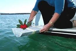 scattering ashes at sea scattering cremation ashes in the caribbean sea
