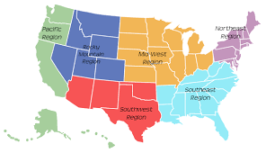 Map Of The Northeastern United States by Regions Of The United States For Kids Songs Stories Laughter