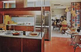 1960s Kitchen 1960s Kitchen Mod Dining Room Modern Vintage Interior Desi U2026 Flickr