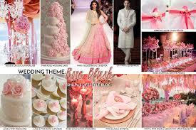Indian Wedding Ideas Themes by Pink Theme Wedding Ideas Rose Blush Color Decoration Decor Lehenga