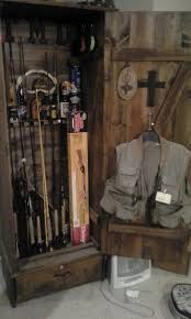 Make Your Own Gun Cabinet The Show Me Fly Guy Displaying Fly Rods