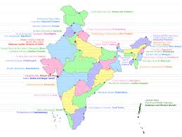 Bhopal India Map by 2017 How Many States In India U2013 29 List Of Capitals U2013 Readmeindia