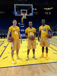 Harrison Barnes Basketball Klay Thompson Jarrett Jack U0026 Harrison Barnes Rocking The New