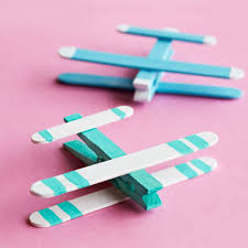 kids u0027 craft stick airplanes