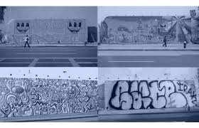 Mural Wall Art by The History Of The Bowery Houston Street Graffiti Mural Wall In