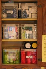 Organize Cabinets In The Kitchen by Best 25 Organize Medicine Cabinets Ideas On Pinterest Spice