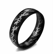 cincin tungsten carbide midi cincin tungsten cincin kekuasaan emas tuan dari cincin