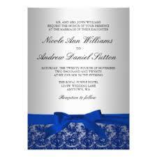 wedding invitations blue navy blue wedding invitations announcements zazzle