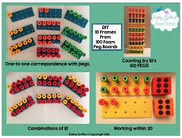 diy indoor games kathy griffin u0027s teaching strategies diy foam 10 frames
