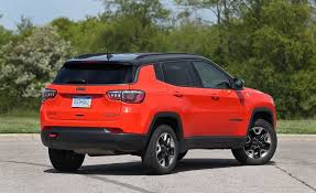 gas mileage for jeep 2017 jeep compass in depth model review car and driver