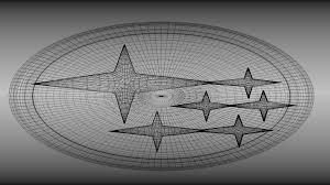 subaru emblem drawing 3d subaru logo cgtrader