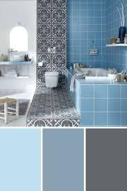 Mosaique Bleu Salle De Bain by