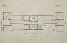 print plan of the basement story of standlinch in wiltshire the