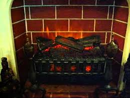 Realistic Electric Fireplace Logs by Duraflame Electric Fireplace Insert Youtube