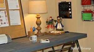 Diy Sawhorse Desk by Home Office Stylish Revamp