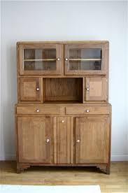 meuble de cuisine vintage buffet de cuisine retro argileo
