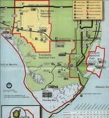 Everglades Florida Map by Everglades