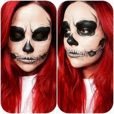 Halloween Skull Face Makeup by Halloween Skull Makeup My Style Pinterest Skull Makeup