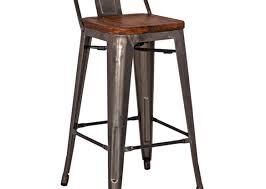 bar glamorous saddle stool counter height awful leather counter