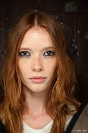 invierno 2016 color de pelo rojo de tendencia tonos de rojo para el cabello tendencia para otoño invierno 2017 en