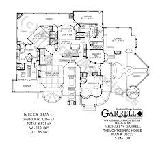Luxury Craftsman Style Home Plans Lightkeeper U0027s House Breezy Coastal Lighthouse Plan