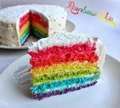 recette de cuisine cake recette du rainbow cake ou gâteau arc en ciel il était une fois