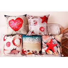 Starfish Cushion Starfish Pillow Covers Promotion Shop For Promotional Starfish