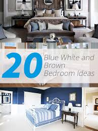 brown and blue bedroom ideas 20 blue white and brown bedroom ideas home design lover